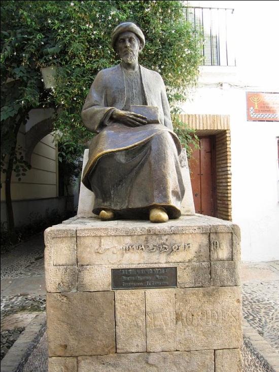 Moses Maimonides, Jewish Quarter of Cordoba, Spain