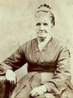 """Sarah Pratt -""""Sister Pratt, the Lord has given you to me as one of my spiritual wives"""""""
