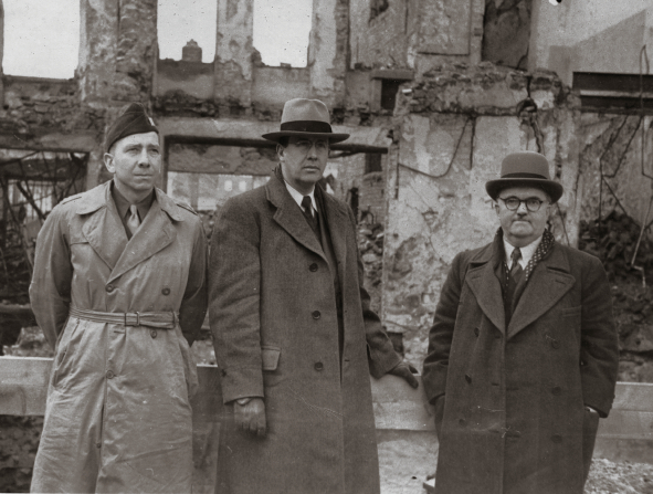 Ezra Taft Benson in war-torn Europe
