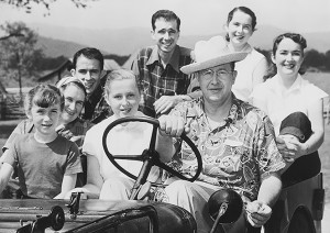 Ezra Taft Benson on the farm with family (intellectual reserve)